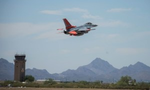 Boeing's Arizona Modification Line Yields First QF-16 Full-Scale Aerial Target