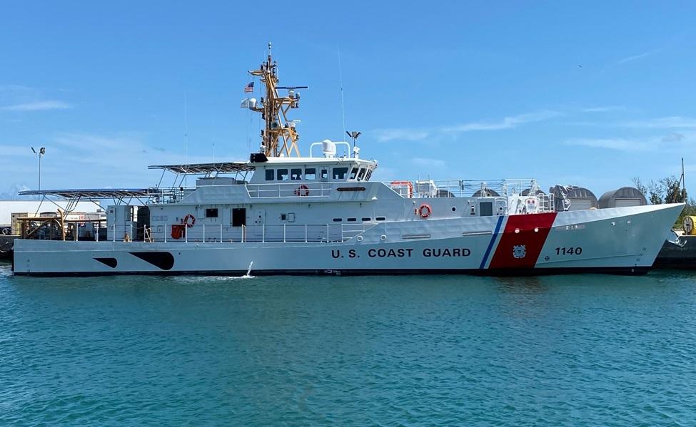 Bollinger Shipyards Delivers USCGC Oliver Henry Sentinel to US Coast Guard