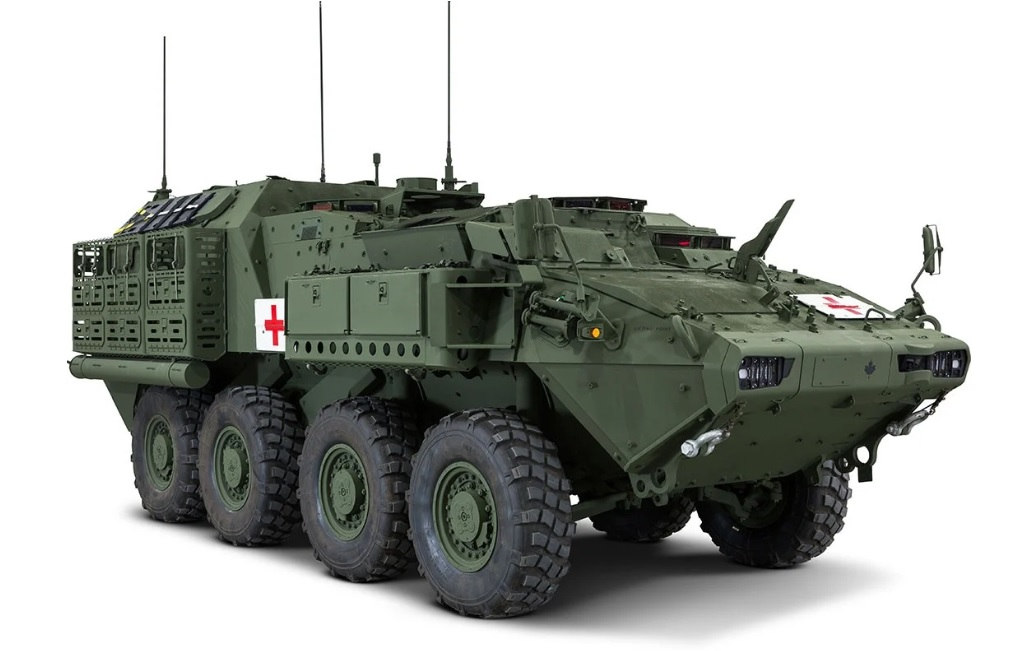 Example of an Armoured Combat Support Vehicle (ACSV)