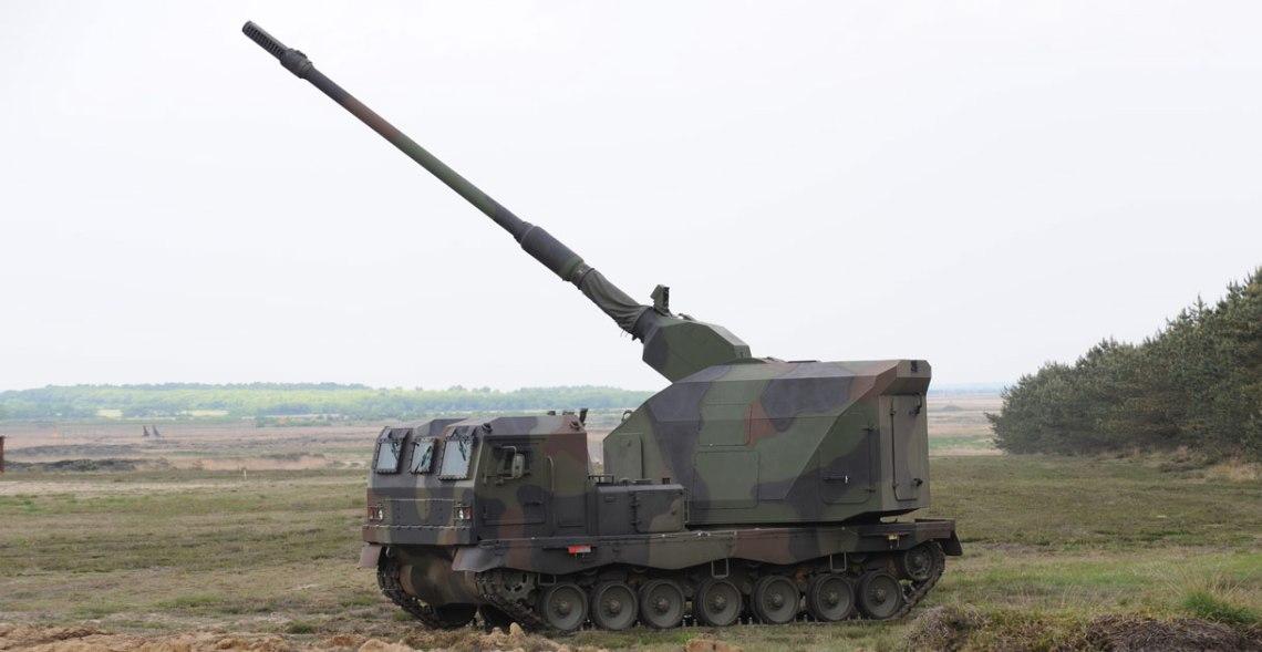 DONAR - Artillery Gun Module (AGM) on ASCOD Chassis