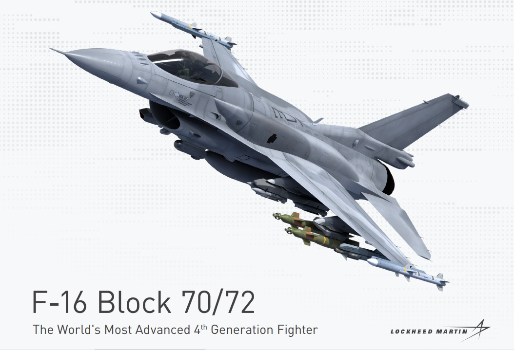 Lockheed Martin F-16 Block 70/72 fighter