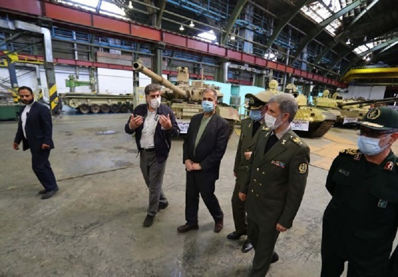 Iran defense industry unveiled an upgraded version of the T-72S main battle tank at Bani Hashim Industrial Complex in Dorud.