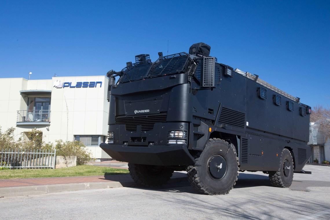 Plasan Guarder Truck