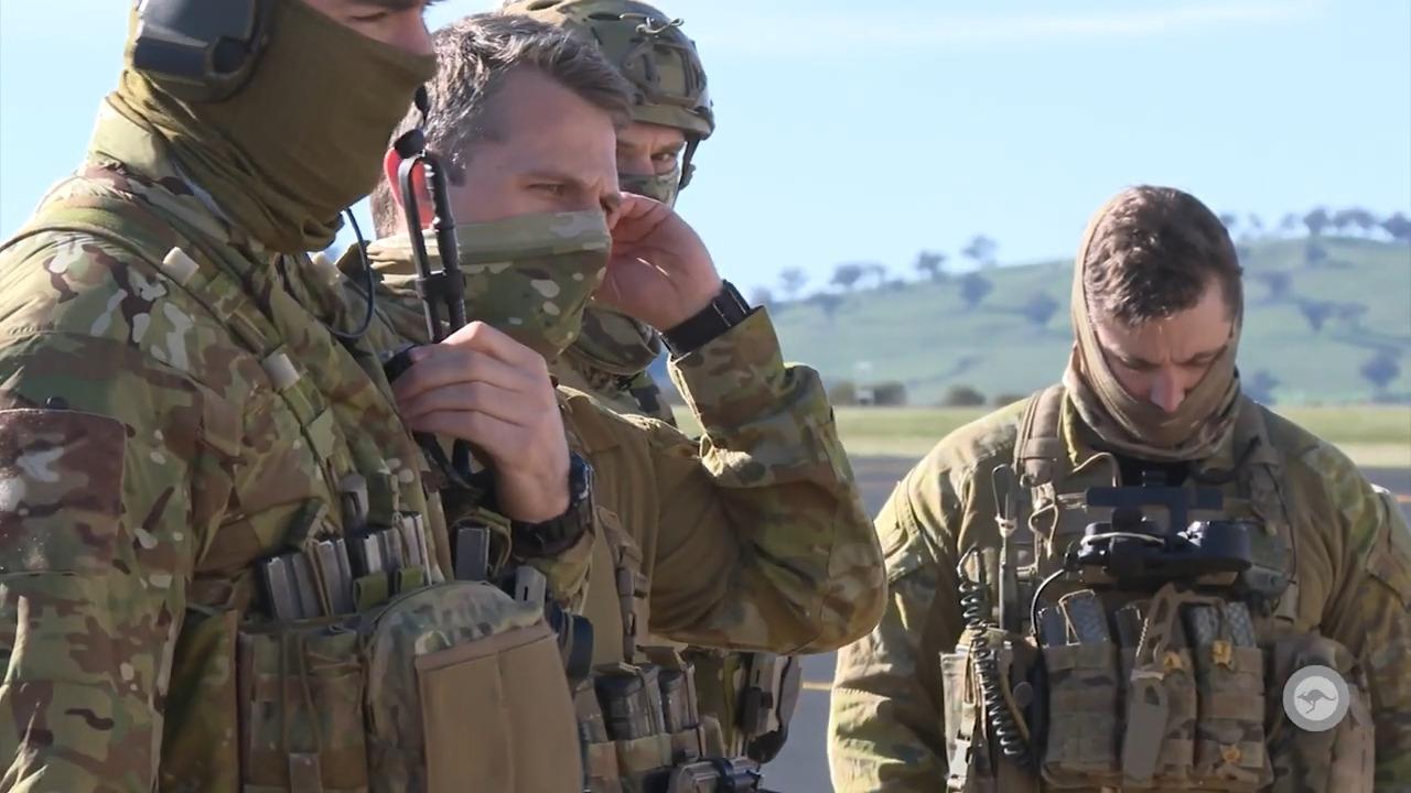 RAAF No. 4 Squadron - Exercise Havoc Drop