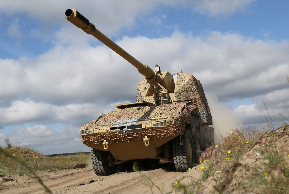 RCH 155 Self-Propelled Artillery System
