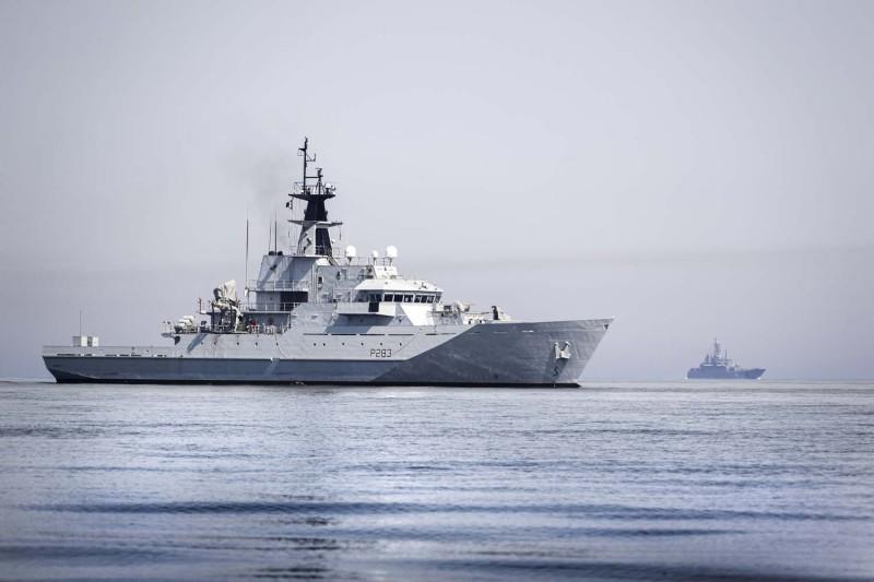 Royal Navy Monitors Russian Warships in Waters Close to UK