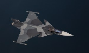 First serial produced SAAB Gripen E