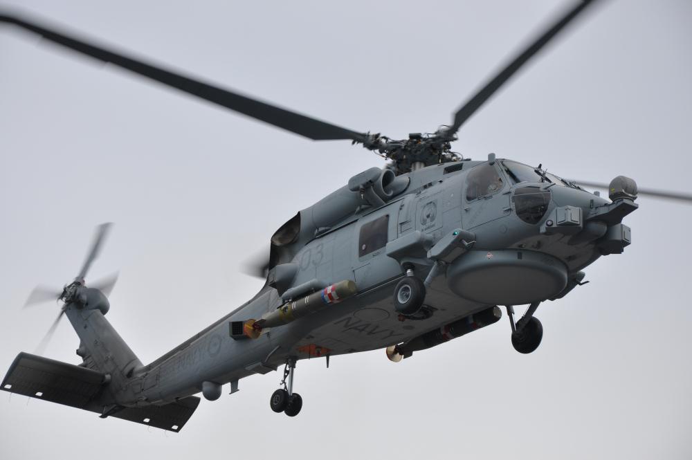 Royal Australian Navy MH-60R Seahawk Maritime Helicopter