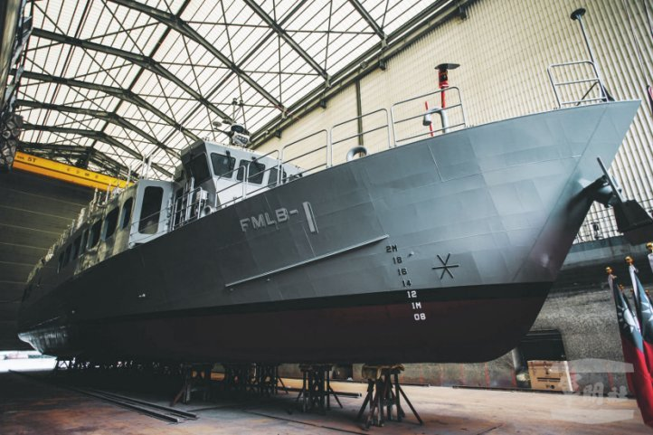 Taiwan Launches 1st Fast Mine Laying Boat For Republic of China Navy