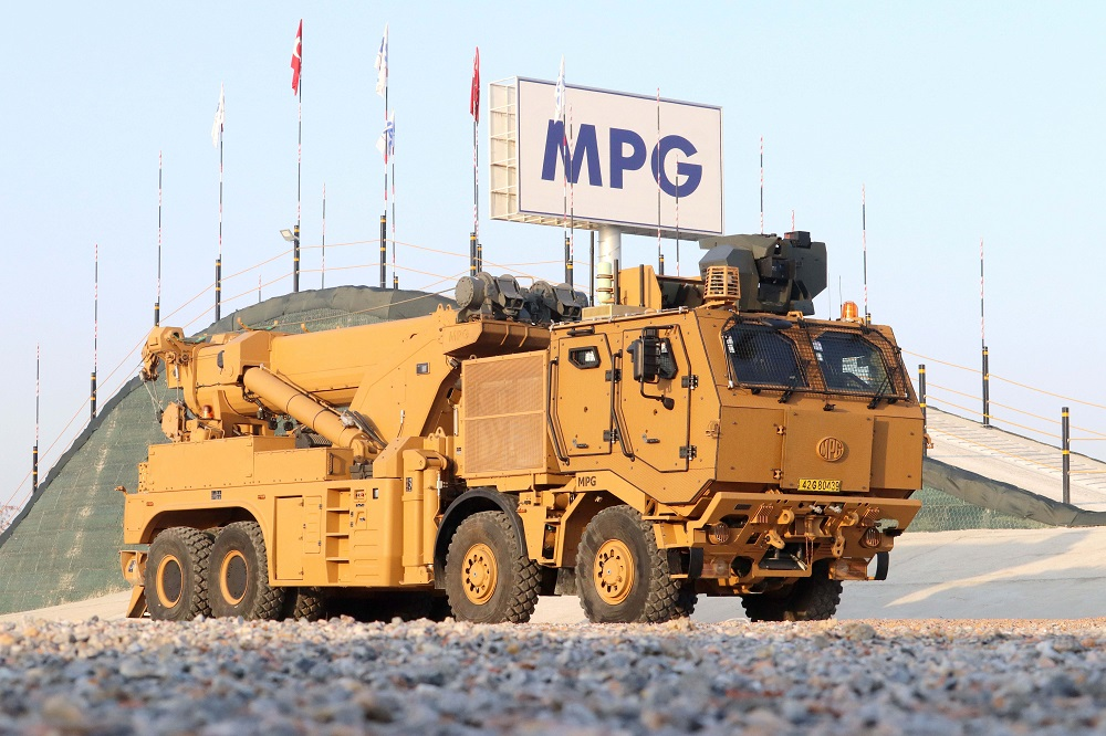 Turkish Army Receives New Batch of M4K Partially Mine-Protected Recovery Vehicles