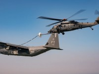 US Air Force Jolly Green II Helicopter Completes First Aerial Refueling