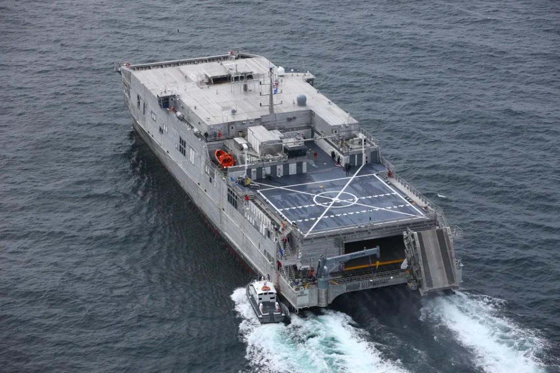 US Navy Future USNS Newport (EPF 12) Successfully Completes Acceptance Trials