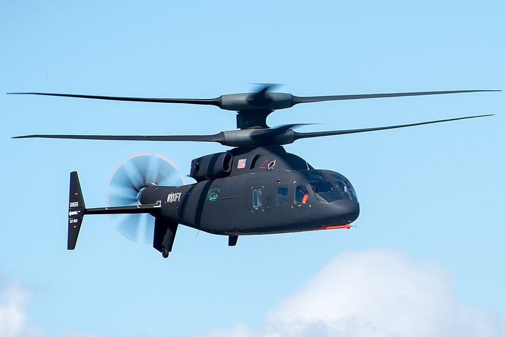 Sikorsky–Boeing SB-1 Defiant Compound Helicopter