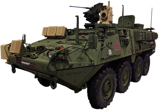 First ITATS Atop Army Mobile Expeditionary High Energy Laser (MEHEL) Platform