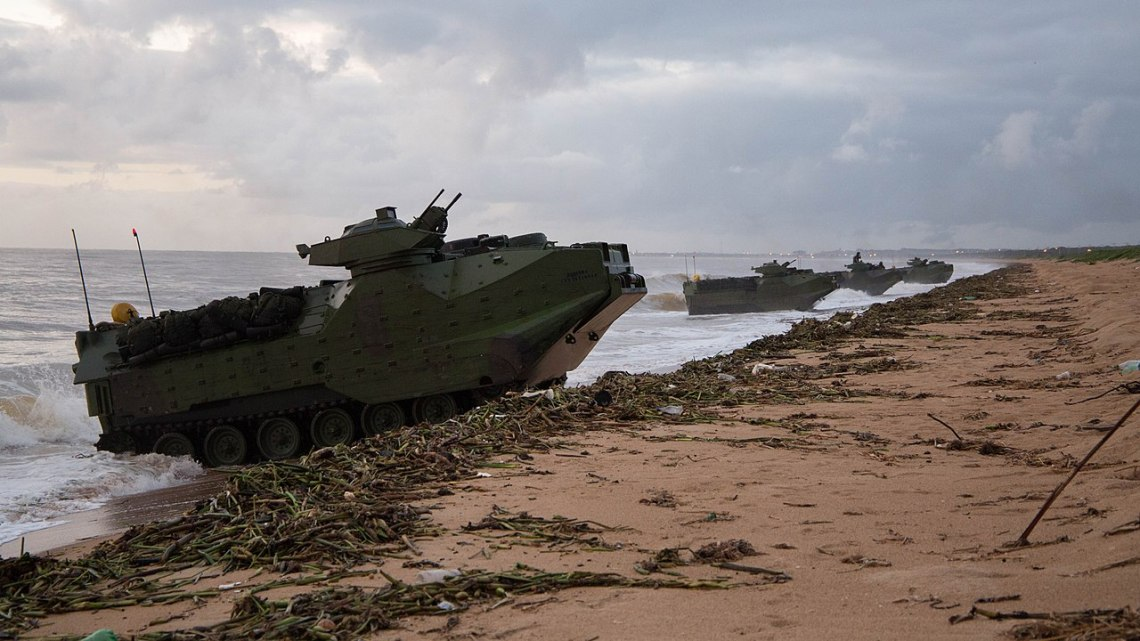 Brazilian Armed Forces to Modernize AAVP-7A1 Assault Amphibious Vehicles