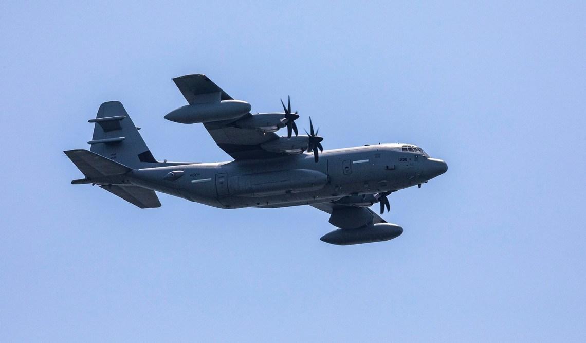 Lockheed Martin EC-130J Commando Solo