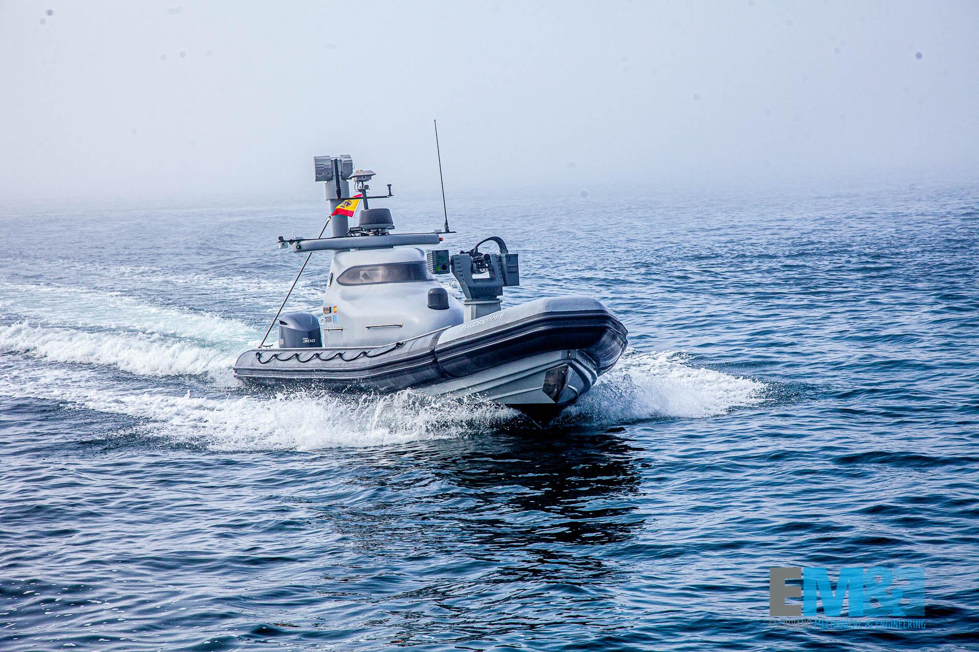 EM&E Presents ASPIS Lightweight Remote Weapon Station