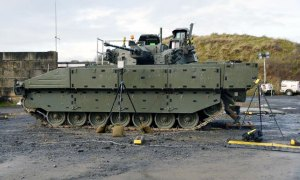 General Dynamics Land Systems–UK Showcase AJAX Firing Skills