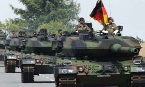 German Army 363th Panzer Battalion Receives New Leopard 2A6 Main Battle Tanks