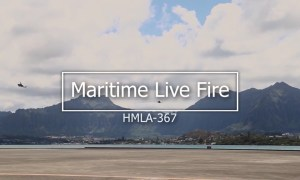 HMLA-367 Conduct Littoral and Maritime Training