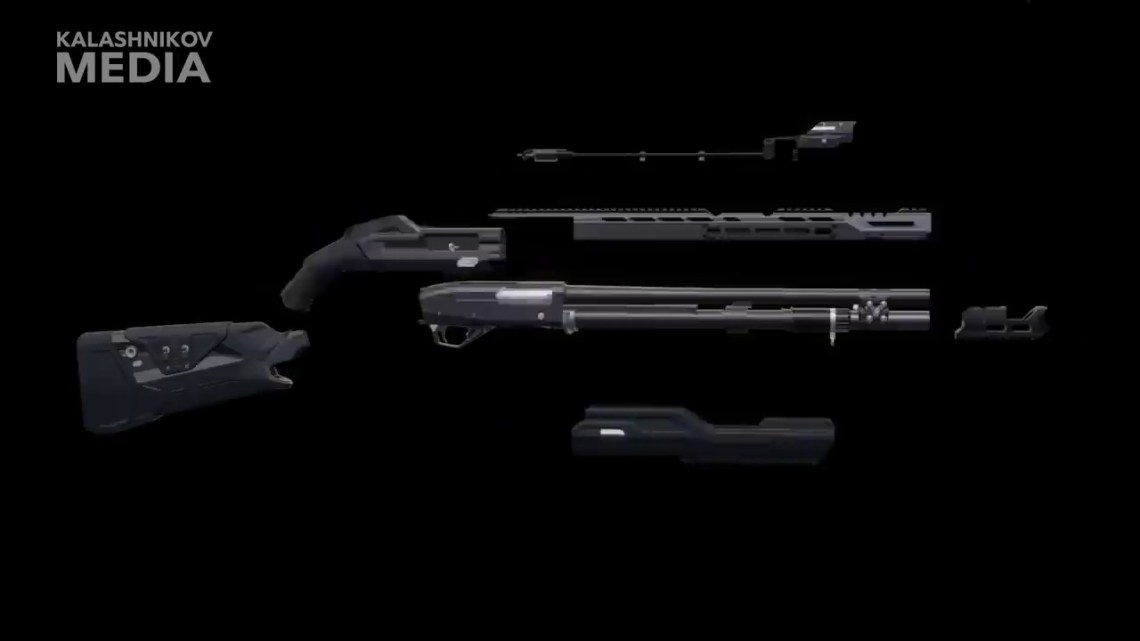 Kalashnikov Concern's Reveals Russian-made Smart Shotgun MP-155 Ultima