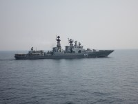 Rusian Pacific Fleet Anti-submarine Ships Concluded 4-day Visit to Brunei