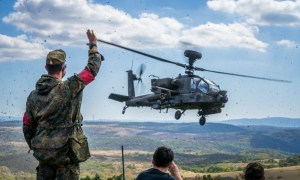 US Army 12th Combat Aviation Brigade Supports Bundeswehr Forward-observer Training at Baumholder