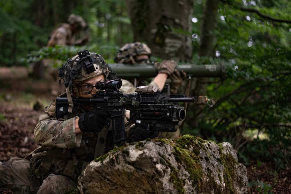 US Army's Response Force in Europe Tests Their Readiness During Exercise Saber Junction 20