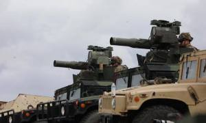 US Paratroopers Conducts TOW/ITAS Live Fire Range
