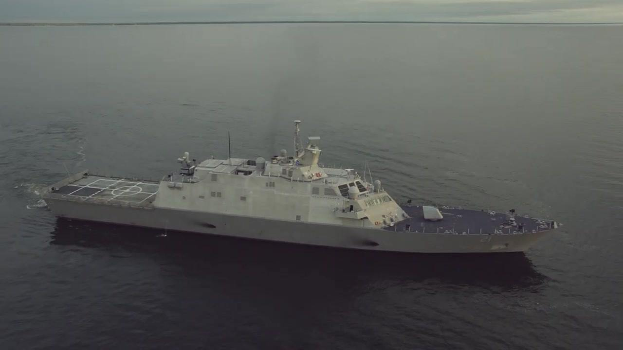 USS Minneapolis-St. Paul (LCS 21) Completes Acceptance Trials