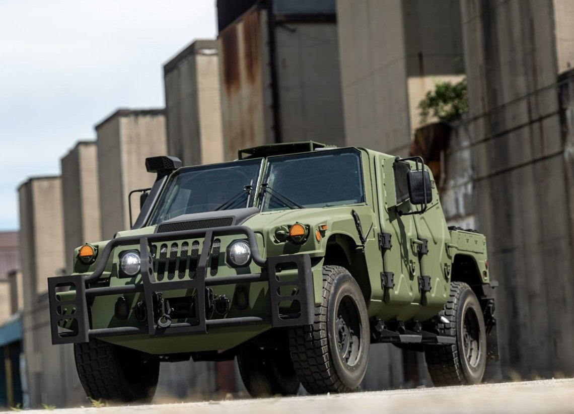 AM General Debuts NXT 360 Light Tactical Vehicle