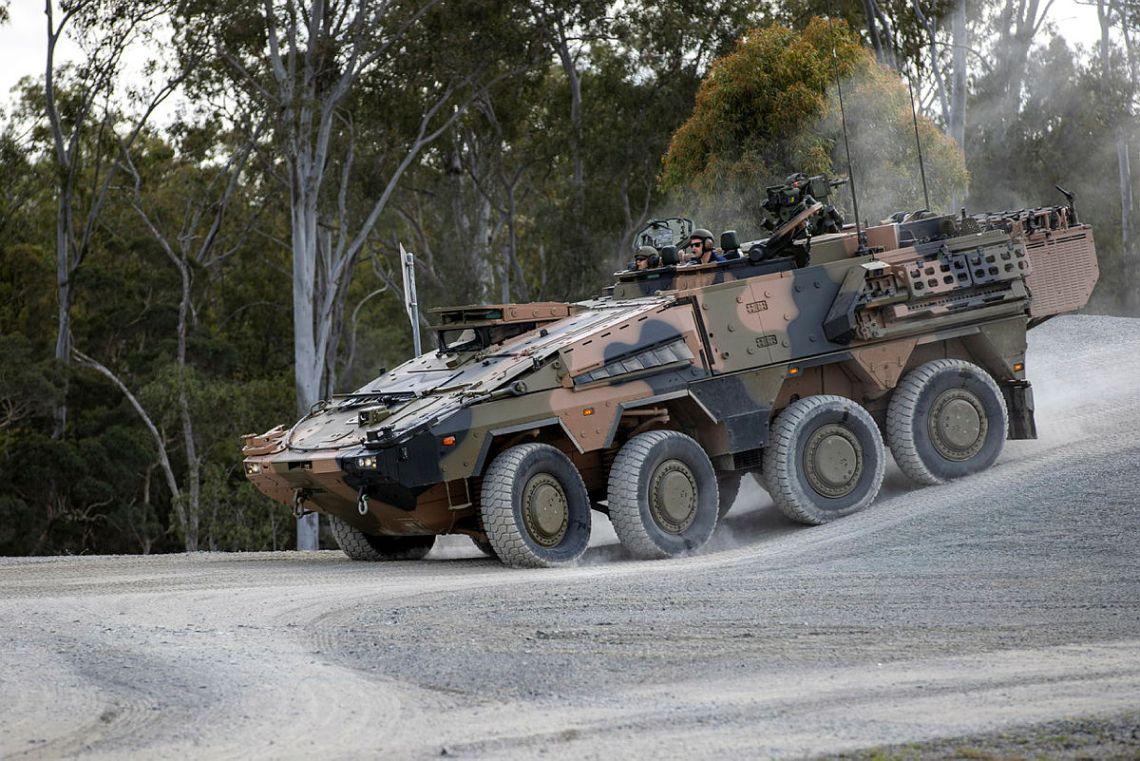 Australian Army Begins to Train on 8x8 Combat Reconnaissance Vehicles (CRV)