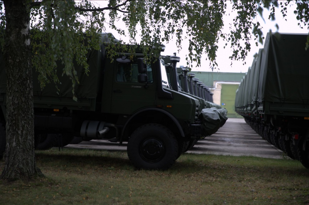 Germany Ships 142 New Unimogs to Lithuanian Armed Forces