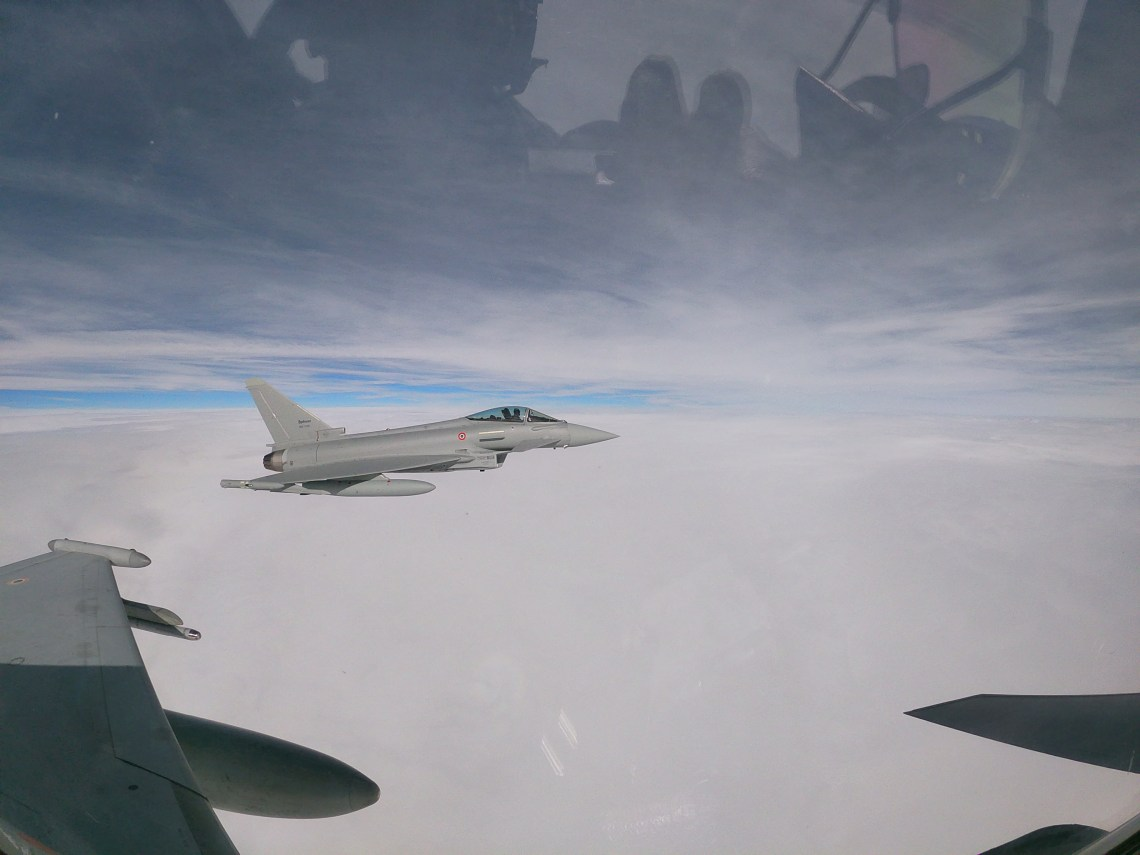 Italian Air Force Takes Delivery of Its Final Eurofighter