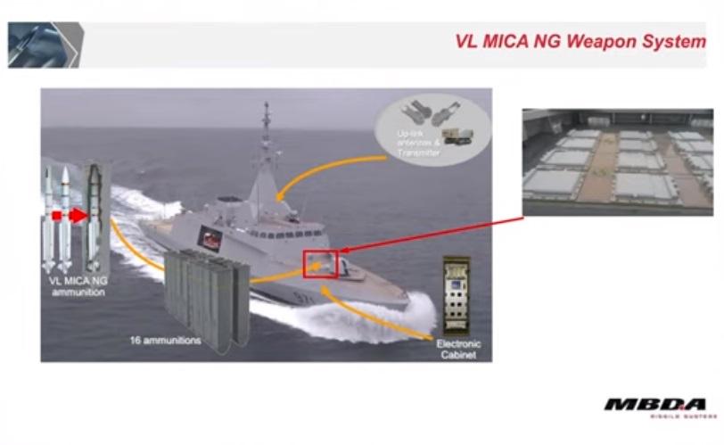 MBDA VL MICA NG Air Defence System