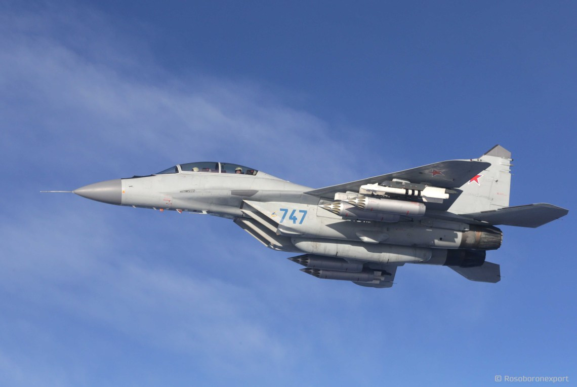 Mikoyan MiG-29M2 Two-seat multifunctional Frontline Fighter