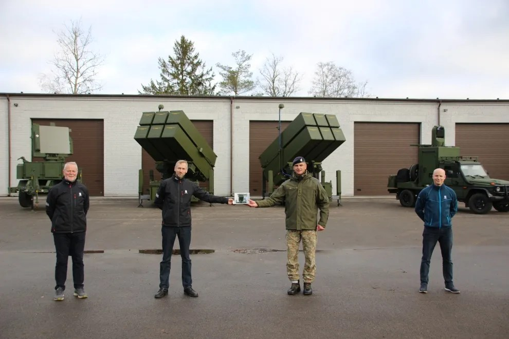NASAMS 3 Medium-range Air Defence System Officially Handed Over to the Lithuanian Armed Forces