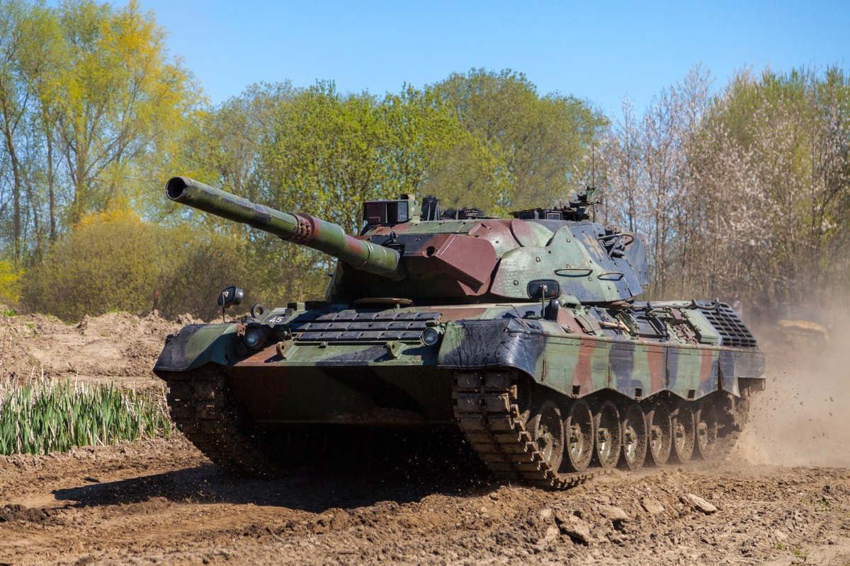 NATO Support and Procurement Agency Successfully Completes Dismantling of 483 Leopard 1A2 Tanks