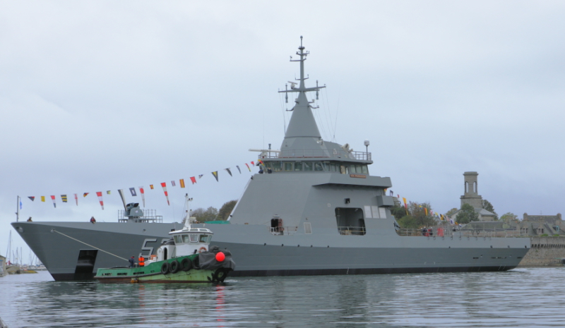 Naval Group Launches Second Offshore Patrol Vessel for Argentina
