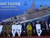 Pakistan Navy Lays Keel of Second Milgem-Class Corvette