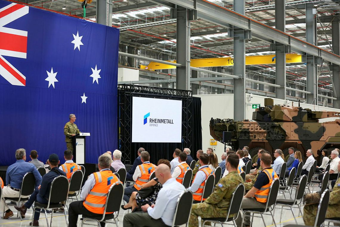 Rheinmetall Opens Military Vehicle Centre of Excellence (MILVEHCOE) in Queensland, Australia