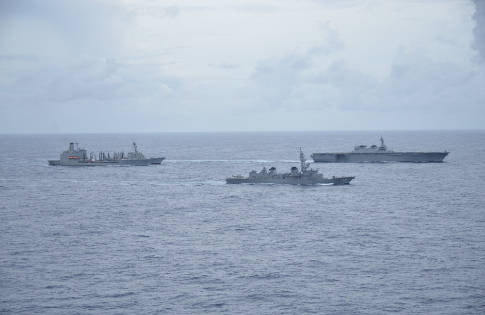 US Navy Joins Japan Maritime Self-Defense Force for Integrated Operations