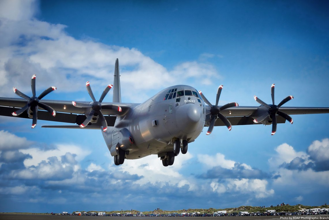 Marshall Aerospace and Defence Group Signs Deal with Danish Air Force for C-130 Cockpit Armour