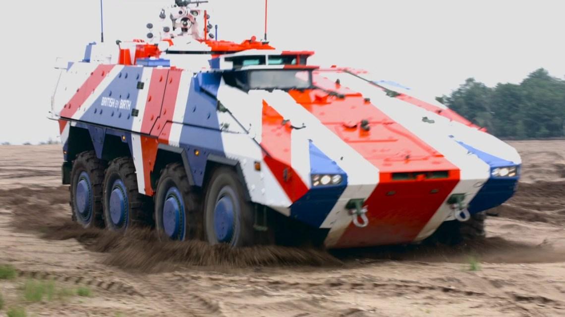 British Army Boxer Mechanized Infantry Vehicle (MIV)