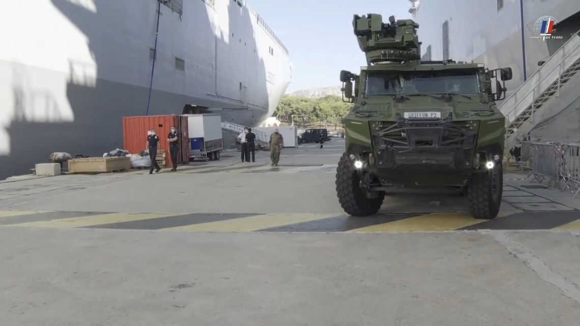 French Army Griffon 6x6 Multi-Role Armored Vehicle