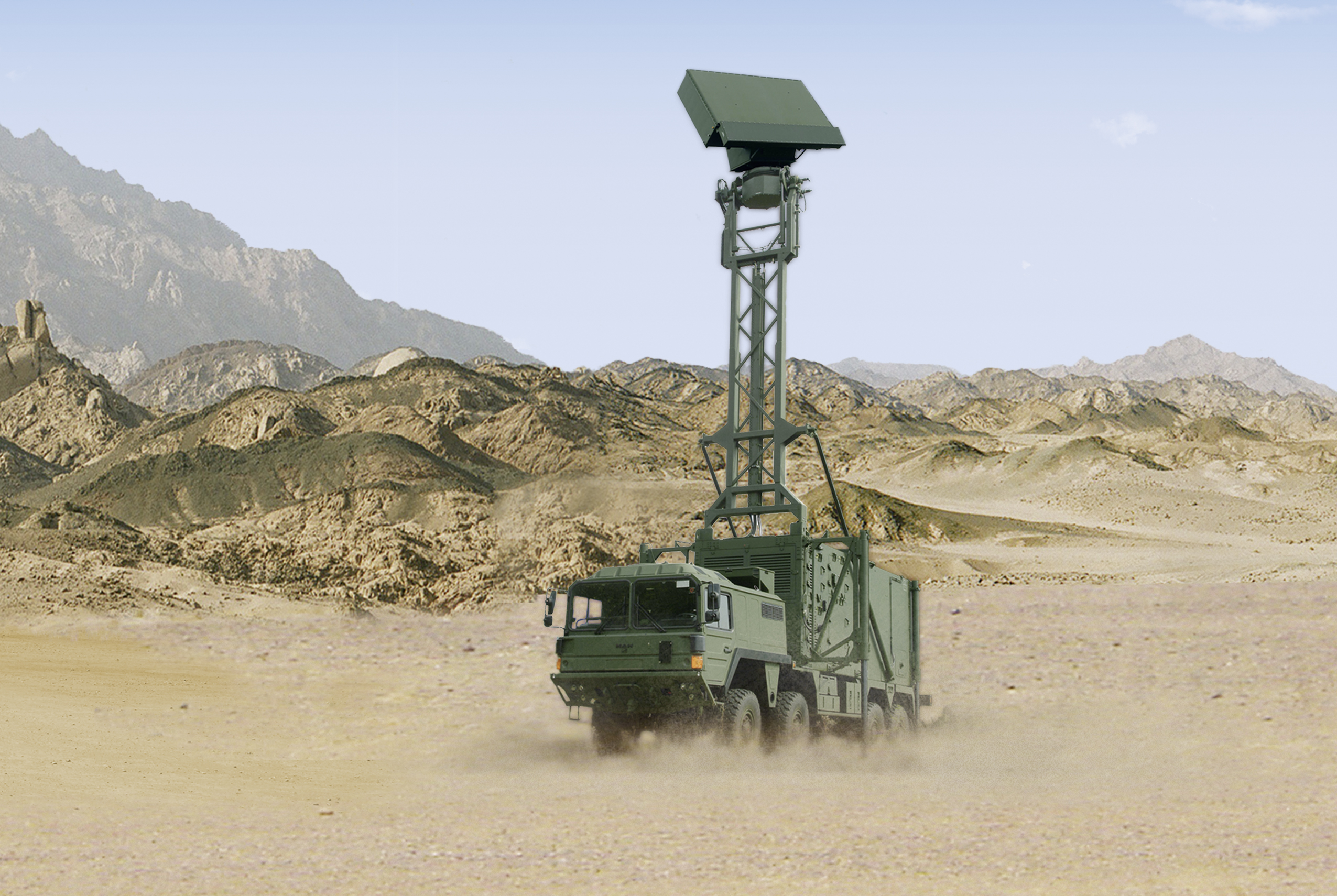 Hensoldt TRML-3D Mobile Air Surveillance Radar
