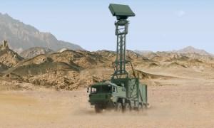 Hensoldt TRML-3D Mobile Air Surveillance Radar