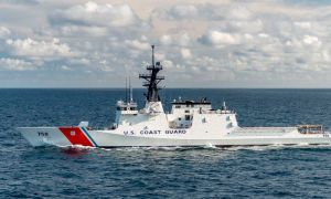 HHI Delivers Legend-class National Security Cutter Stone to US Coast Guard