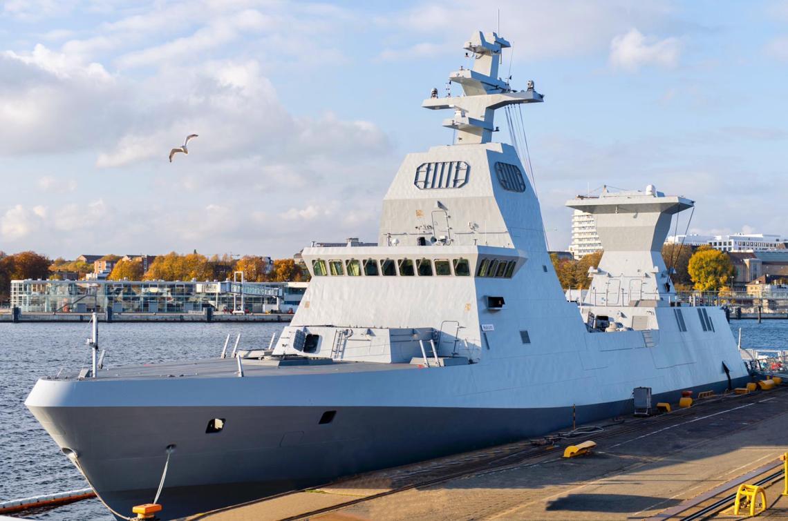 Israeli Navy Unveils Sa'ar 6 Missile Guided Corvette