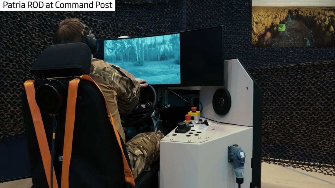 Patria Heavy Unmanned Ground Vehicle (UGV)